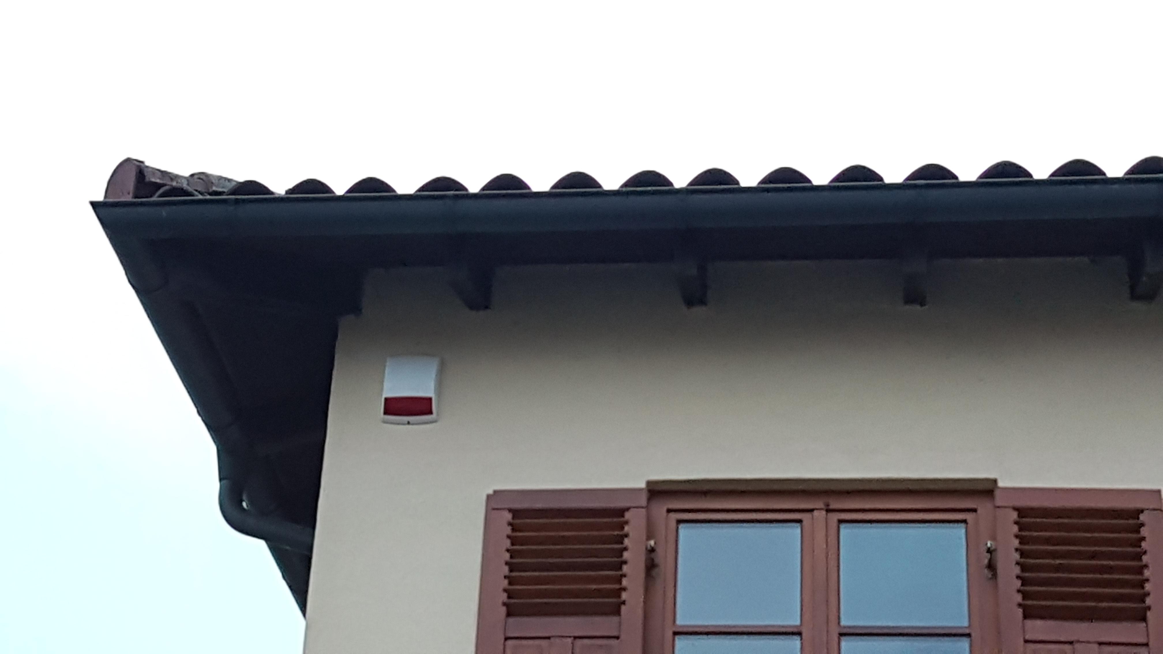 Einbruchmeldeanlage Einfamilienhaus