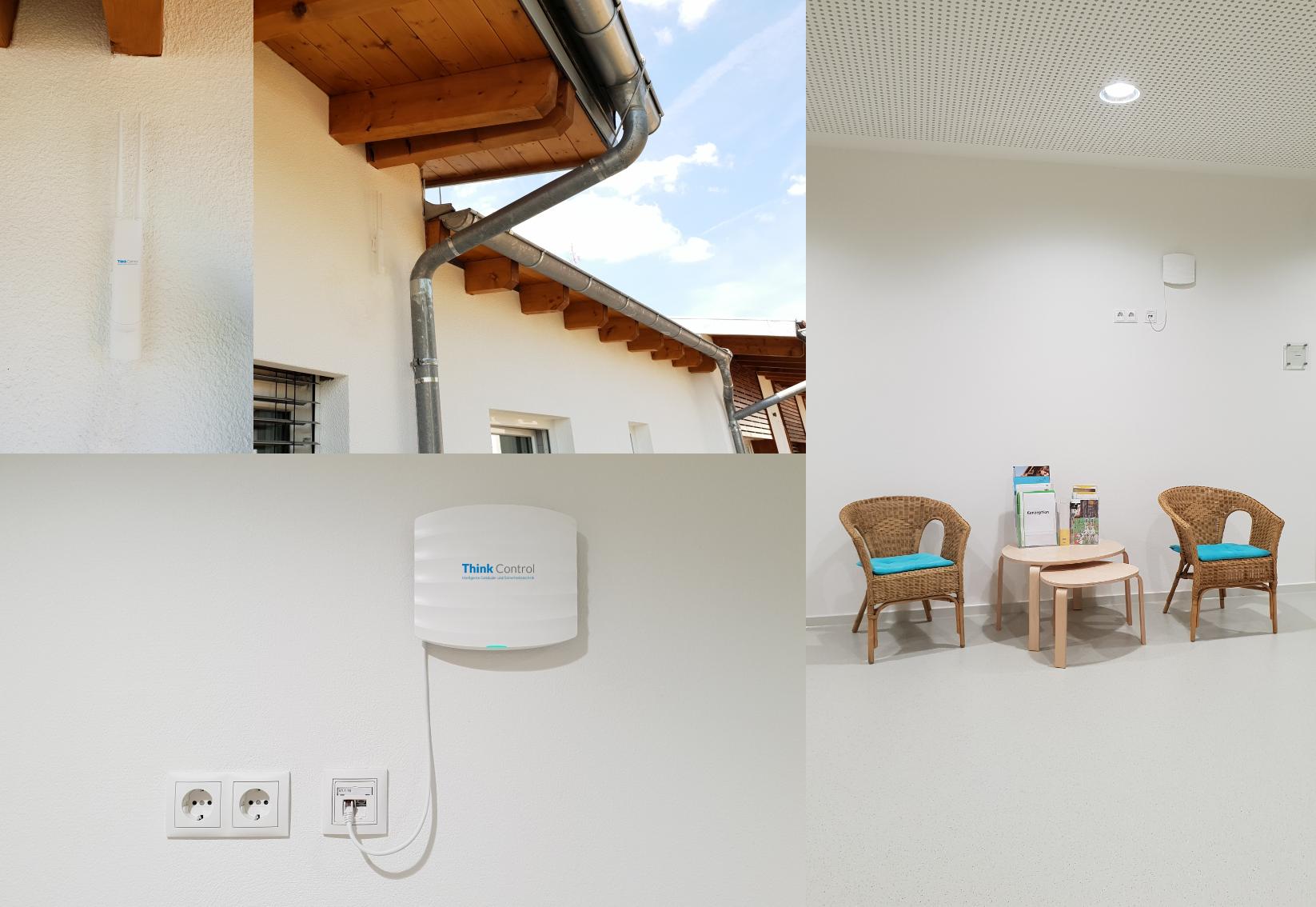 Access Point Installation im Innen- und Außenbereich