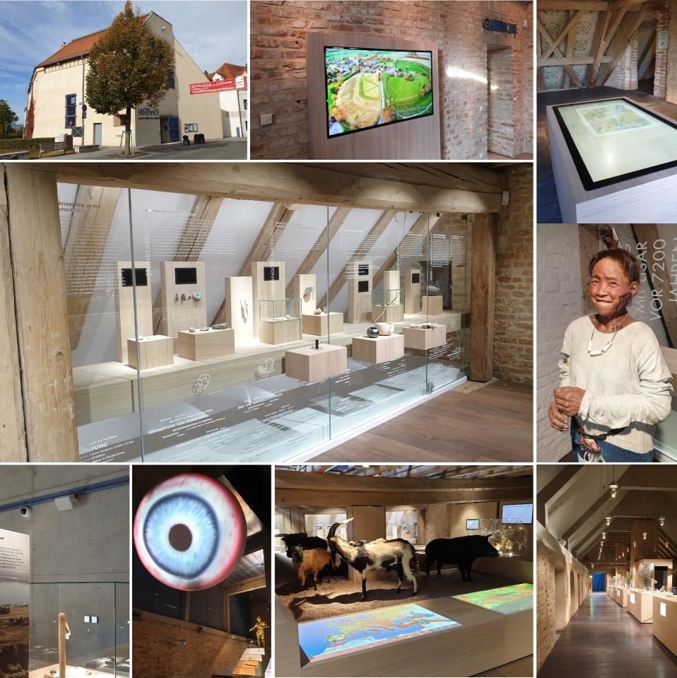 Steinzeitmuseum Kastenhof / Landau a. d. Isar – Medientechnik und Kameratechnik