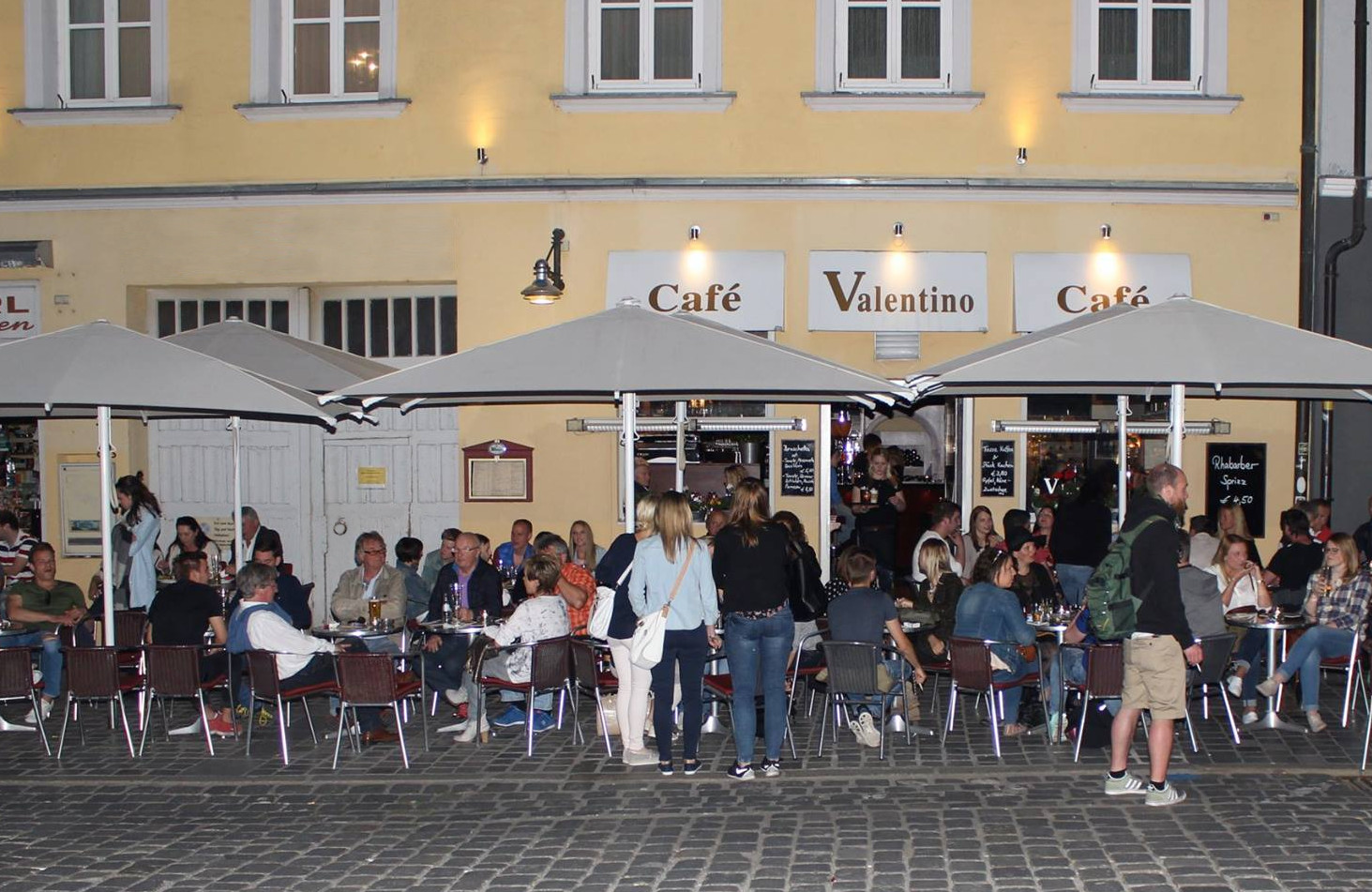 Cafe Valentino Straubing – Einbruchmeldeanlage